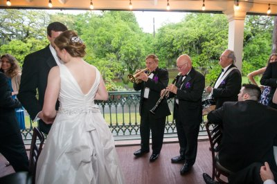 First Dance on Balcony