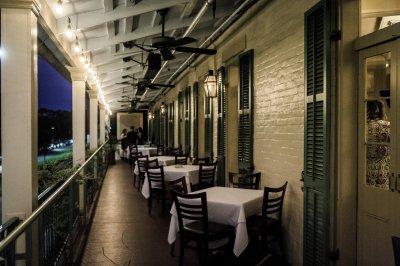 2nd Floor Balcony - Evening View