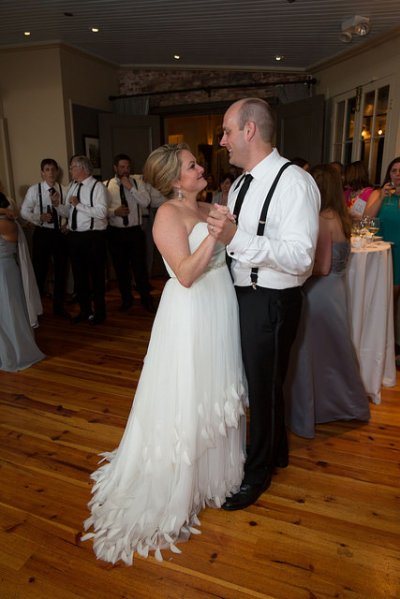 First Dance in Oak Room