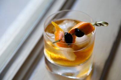 Oak Fashioned Cocktail