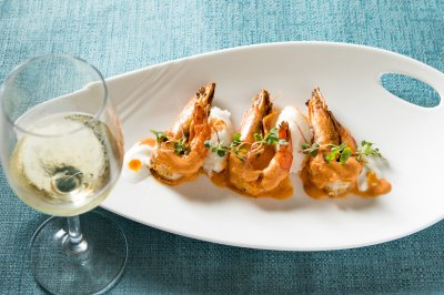 Vadouvan Shrimp & Grits