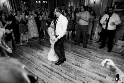 Bride & Groom first dance in Oak Room