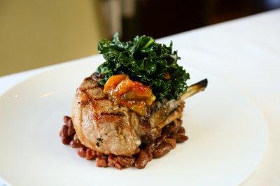 Double-Cut Pork Chop